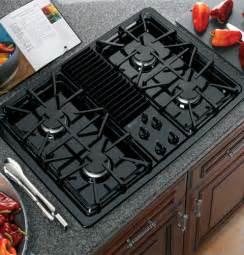 Ge Cooktop Ge Profile Built In Downdraft Gas Modular Cooktop