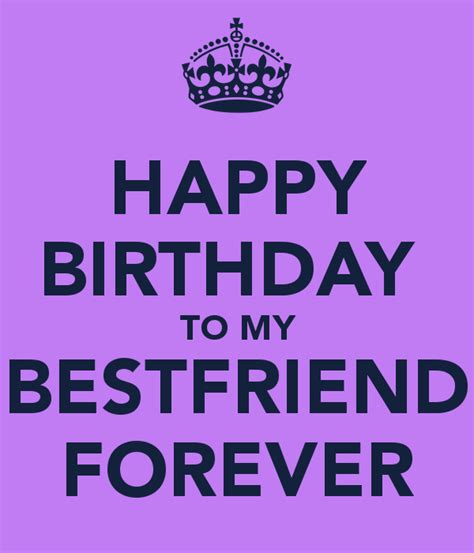 happy birthday my best friend happy birthday to my bestfriend forever poster april 4