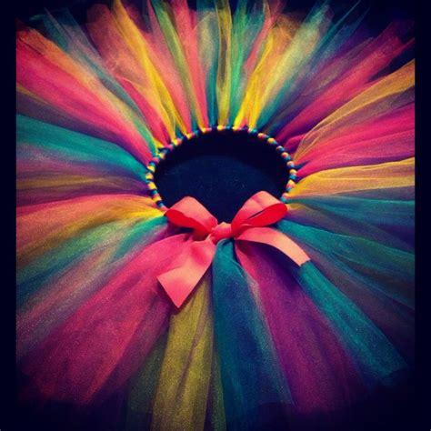 colorful tutu colorful tutu birthday idea