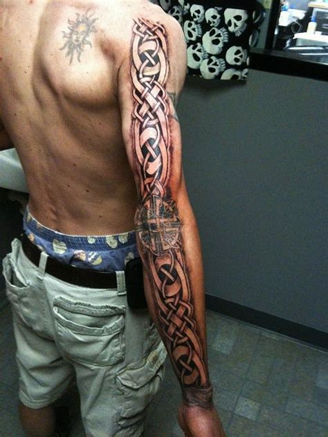 tattoo sleave designs keiths celtic sleave by wikkedone on deviantart for the