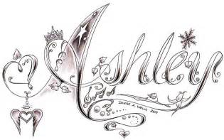 ashley tattoo design by denise a wells this is a design f flickr