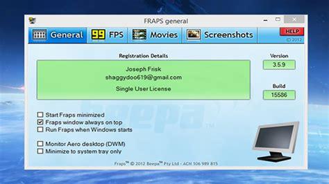 full version fraps indir fraps free download download the full version of fraps