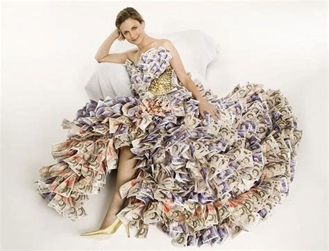 Money Dress money dress 15 dresses made from recycled materials