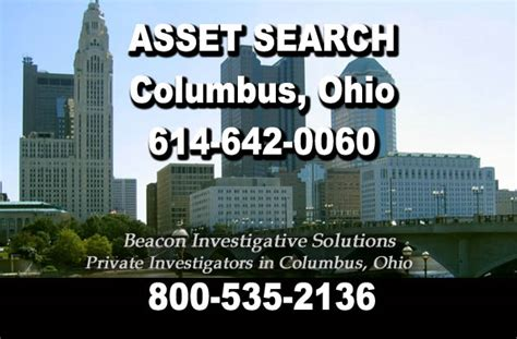 Search Columbus Ohio Columbus Asset Search Beacon Investigative Solutions