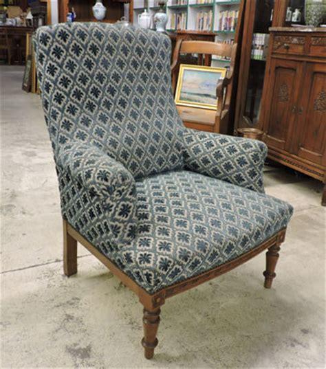 fauteuil anglais tissu fauteuil ancien anglais 120