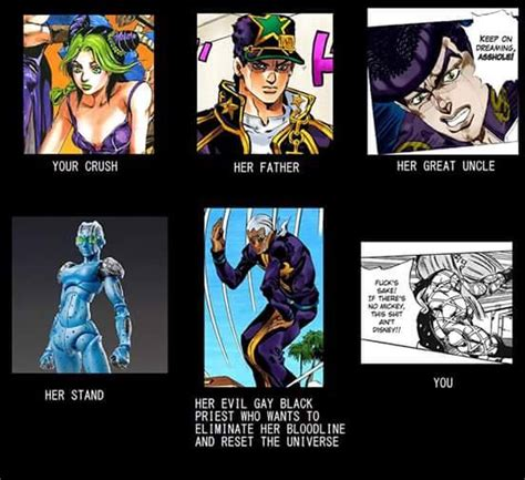 Jojo Memes - daily jojo meme 74 animemes