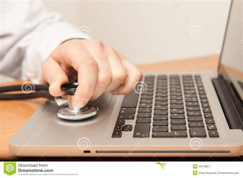 Hardware Technician by Computer Doctor Stock Photo Image 43118871
