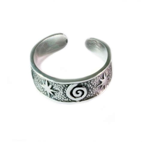 charm school uk gt sterling silver toe rings gt
