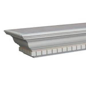 home depot paint grades builder s choice berkley 6 ft paint grade cap shelf