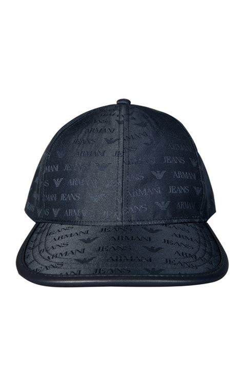 Cp Logo Black Aj armani aj logo design baseball cap in black and navy blue