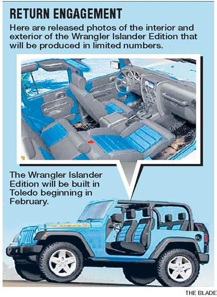 jeep islander decal jeep islander due for rerun in 2010 wrangler version to
