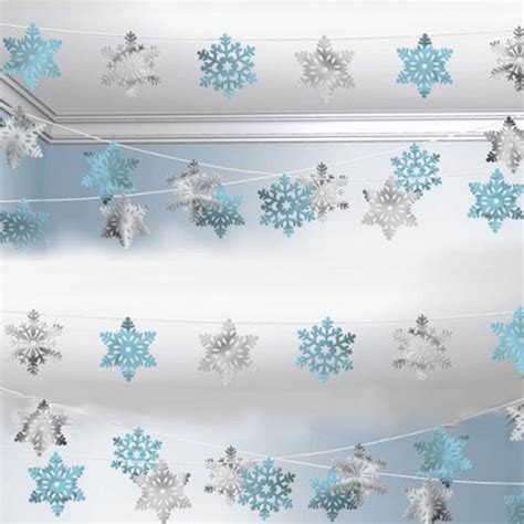 decorations blue and white frozen decorations ideas for the best