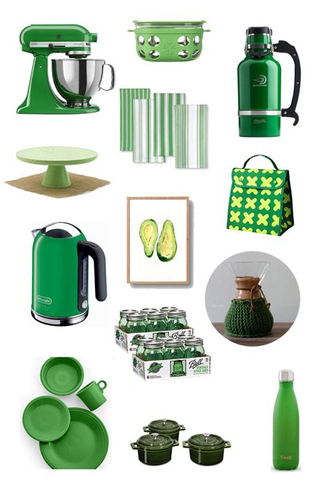 {I Love} Green Kitchen Things   Kitchen Treaty
