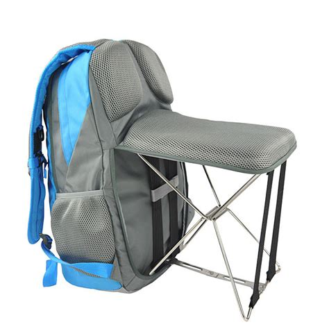 Backpack Chair by This Backpack Is Also A Chair Technabob