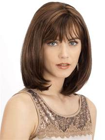 shoulder length hairstyles with bangs 40 best medium hairstyles for fine hair 2016 digihairstyles com