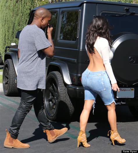 best big ass movie kim kardashian wears backless top for movie date with
