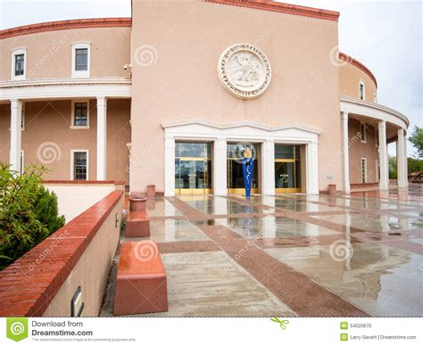 the new mexico state capitol building santa fe new new mexico state capitol building stock photo image