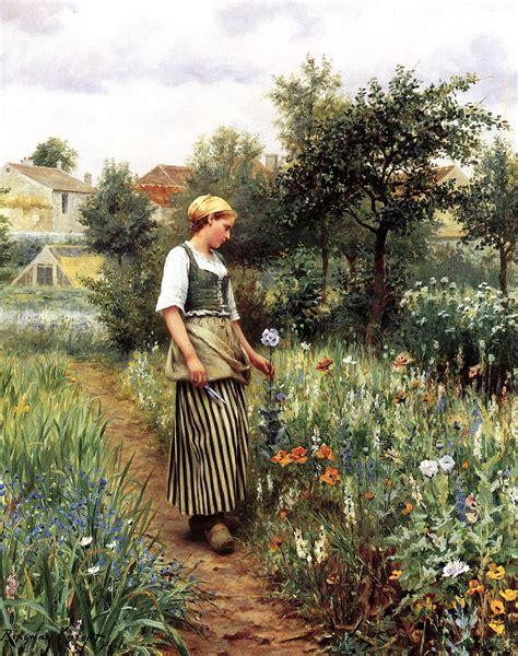 The Backyard Gardener by File Daniel Ridgway In The Garden Jpg Wikimedia