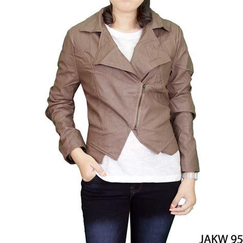 jaket believe bjmp 09 krem jaket wanita terbaru fabric krem gudang fashion wanita