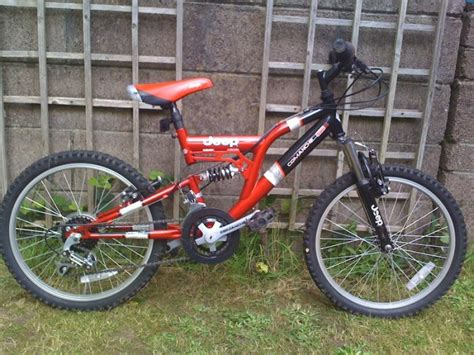 jeep mountain bike jeep mountain bike with suspension junior size for sale in