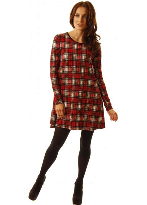 tartan swing dress uk cherry couture tartan swing dress tartan dress