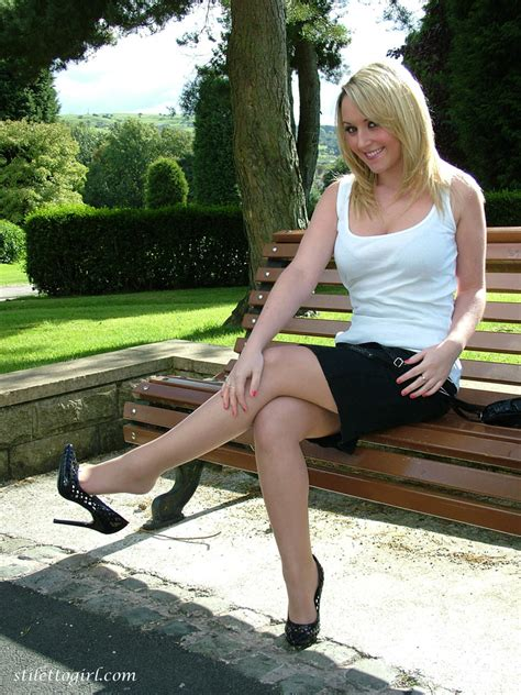 Dress Tyasie Wedges Scuba 81 in high heels and nylons jheeez high heel and stilettos