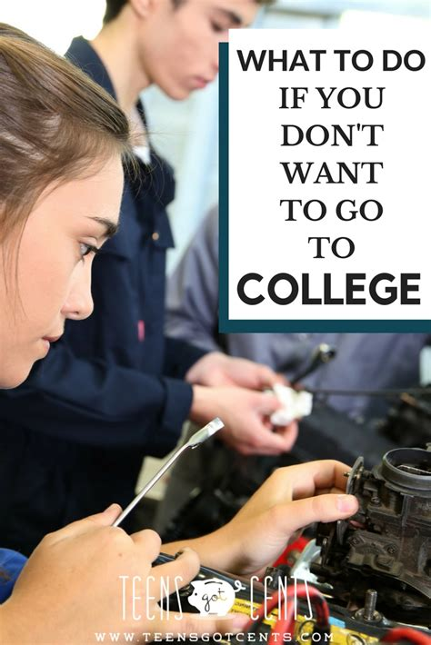 do students have the right to go to the bathroom what if college isn t right for you teensgotcents