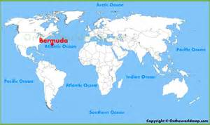 Bermuda Map World by Bermuda Location On The World Map