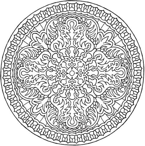 mystical mandala coloring pages free creative magical mandalas coloring book by the