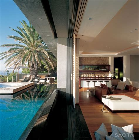 living room nightclub cape town pool patio doors bar living space st 10 in cape town south africa by saota and antoni