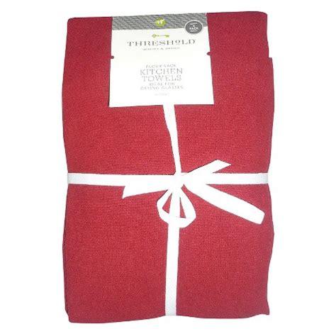 Flour Sack Kitchen Towels by Threshold Flour Sack Kitchen Towel 4 Pack Target