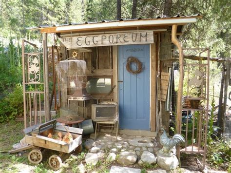 blue fox farm shabby chic style shed vancouver by