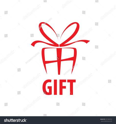 logo giftware vector logo box gifts stock vector 551949763