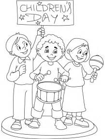 childrens coloring pages children s day coloring part 6