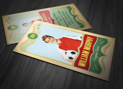 vintage baseball card template print templates sports cards vintage sports card