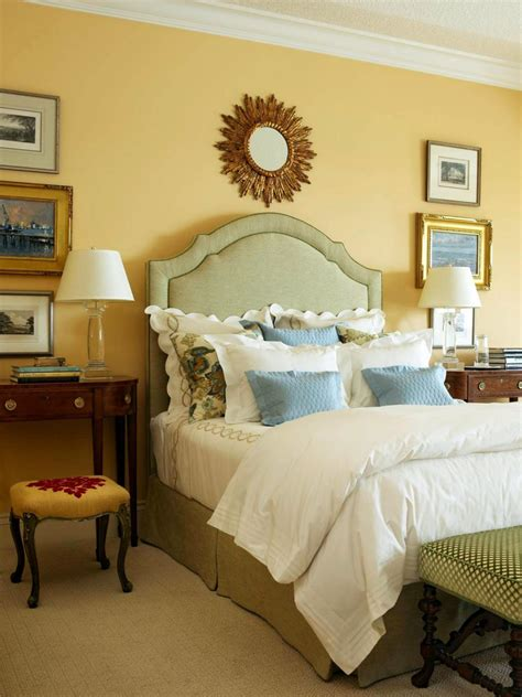 yellow and blue bedrooms no fail guest room color palettes hgtv