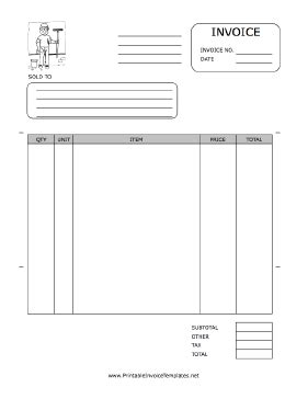 window cleaning invoice template window washer invoice template