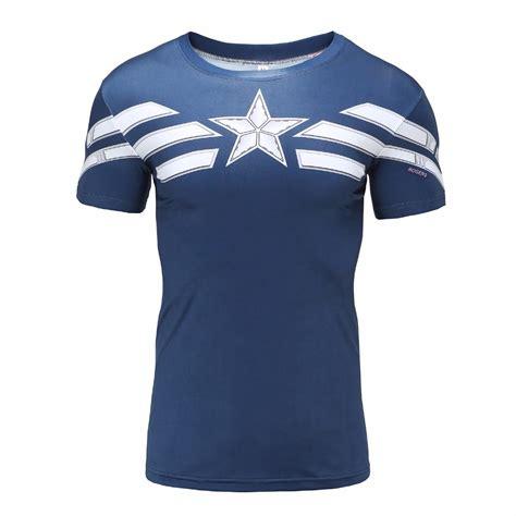Sweater Iron Station Apparel rashguard shirt classic captain america idolstore