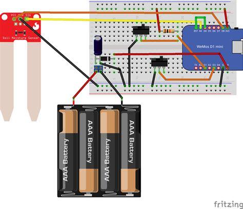 solidworks pcb soil moisture sensor aws iot remote soil moisture monitor hackster io