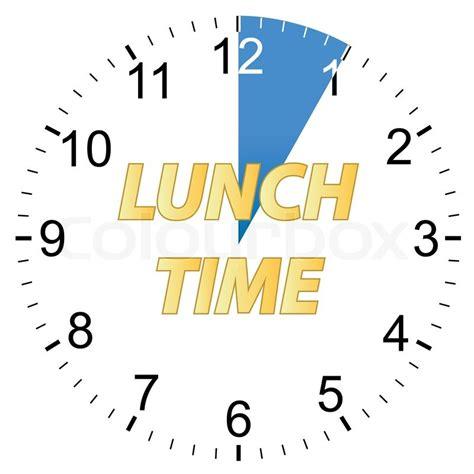 what time is lunch image gallery lunch time clock