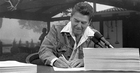 ronald reagan haircut incomes grew after past tax cuts but guess whose the