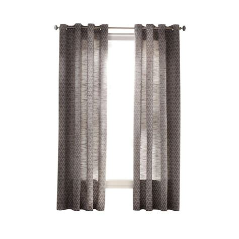 home depot curtains martha stewart martha stewart living zinc diamond sky grommet curtain