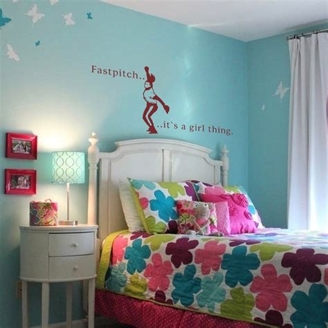 sports decals for rooms inspirational quote baseball wall quote fastpitch softball
