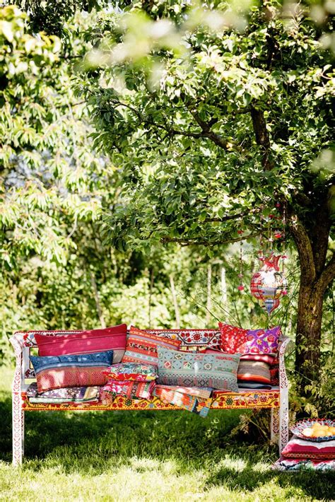 bohemian bench folklore boho and benches on pinterest