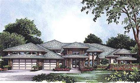 frank lloyd wright style house plans plan w63112hd exquisite frank lloyd wright style house