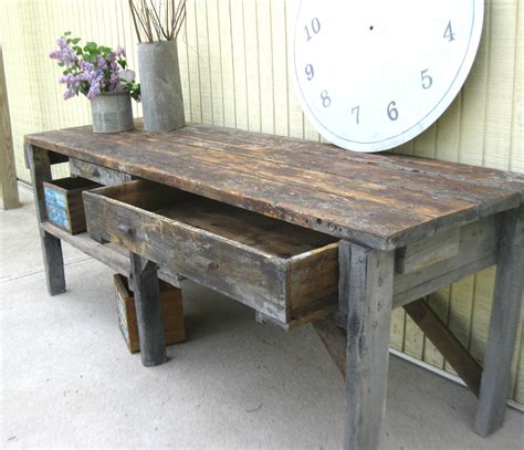 vintage work bench reserved for mark vintage primitive workbench or by