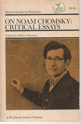 Noam Chomsky Essays by Biography Of Author Gilbert Harman Booking Appearances Speaking