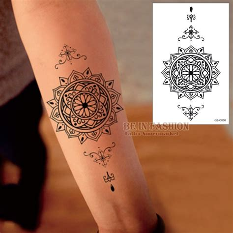 henna tattoo vendors aliexpress buy 1piece waterproof temporary