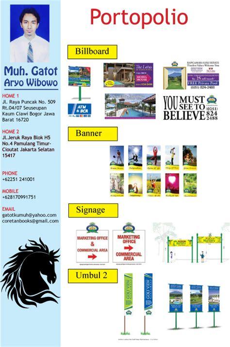 aturan layout majalah me and my portopolio gatotaryodesign