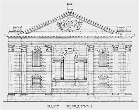 section 17a plate 17 st martin s church section and elevation